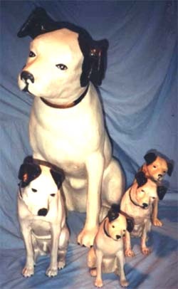 Paper Mache Nippers from Joan Rolf's Collection