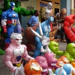 Papier Mache: A popular New Year's celebration in the middle of the world  by Jose Tobar