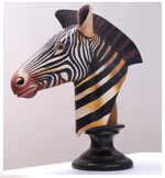 Example of Sergio Bustamante's work - Zebra Trophy