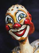 smilling clown by Louise Rosenfeld