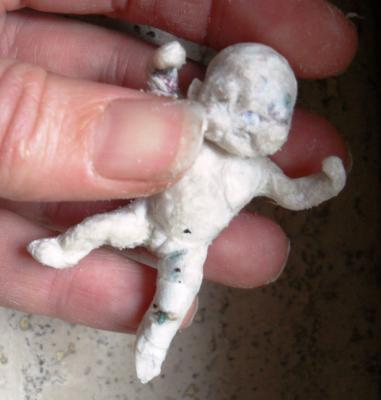 """miniature newborn 1:12 not finished"" by Suzan Geridönmez"