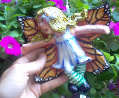 """Monarch Butterfly Fairy"" by Deedra Levy"