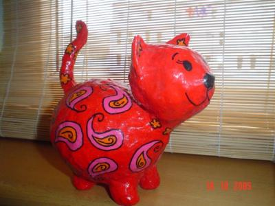 """red cat"" by Ana Plecic"