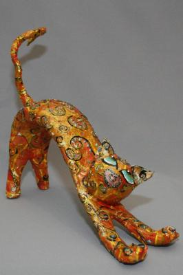 """THE GOLD CAT"" by Cochi Mor"