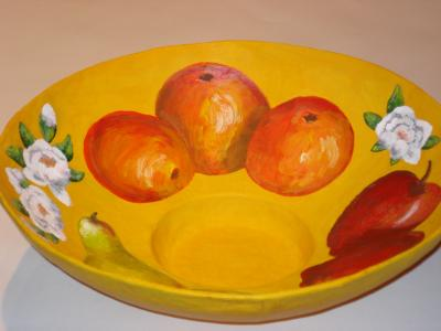 """Fruit Bowl"" by Jackie Hall"