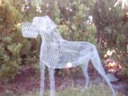 WIP Great Dane (chicken wire) by Grécha