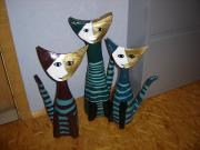 cats inspired by Rosina Wachtmeister by Elke Thinius