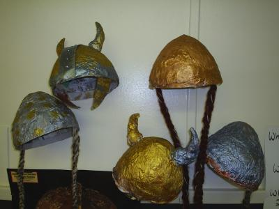 """helmets class 3"" by Mansfield Primary School"