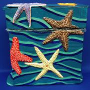 Starfish Waste Receptacle by Christina Colwell