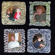 Refrigerator Magnet Picture Frames by Christina Colwell