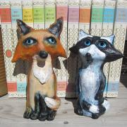 Foxy and Roxy by Christina Colwell