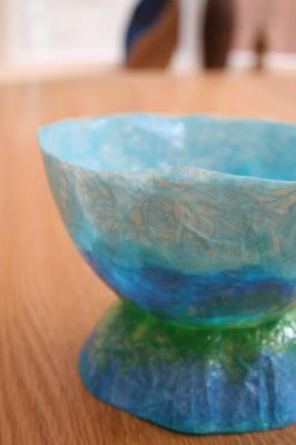 """Tissue Bowl"" by Jo Sykes"
