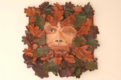 """Greenman"" by Jo Sykes"