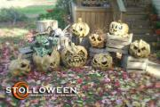 Papier Mache Pumpkins (2008) by Scott A. Stoll