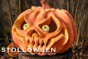 Papier Mache Pumpkin (2008) by Scott A. Stoll