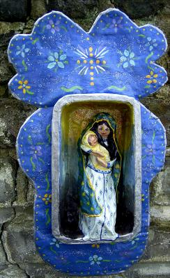 """Madonna and child"" by Anita Russell"