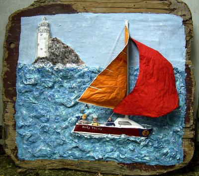 """Fastnet rock"" by Anita Russell"