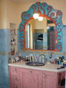 mirror decoration by Shishi Bar