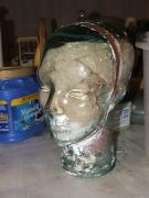 glass face mold by Lilly Osterwald