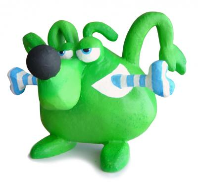 """Green Dog..."" by Joao Coias"