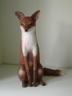 """Fox"" by Nicky Clacy"