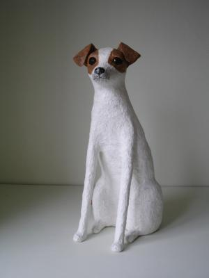 """Jack Russell (2)"" by Nicky Clacy"