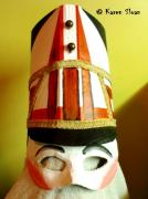 Nutcracker ballet soldier mask by Karen Sloan