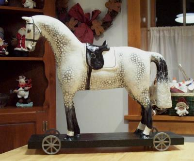 """The old horse pull toy"" by Lynne OBrien"