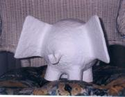 Elegant Elephant-Before Painted Design by Carolyn Bispels