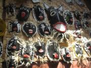 Masks Yaquis by Ana Isabel Martí­n del Campo