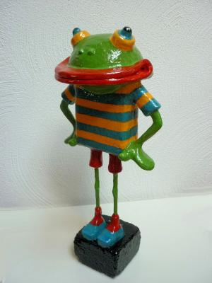 """""Robbie"" the frog"" by Joke Heesters"
