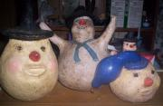The Gourd Cousins, Gilbert,Grady,and Glen Gourd.. by Connie Jean Vanmatre