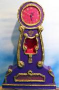 purple clock by Allie Scott