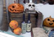 My Galleries halloween window by Allie Scott