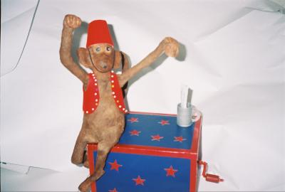 """Organ Grinder Monkey"" by David Peterson"