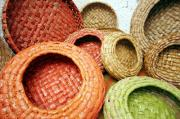 recyceld paper baskets 3 by Guy Lougashi