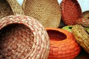recycled paper baskets by Guy Lougashi