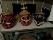 Masks for The King and I by Joey Lopez
