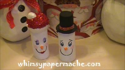"""Little Snowman Ornament"" by Charisse Eaves"