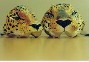 Jaguar masks, 1996 by Lena Hildeman
