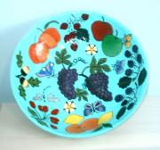 Fruits & Flowers Bowl (Pic 1) by Elna Badenhorst
