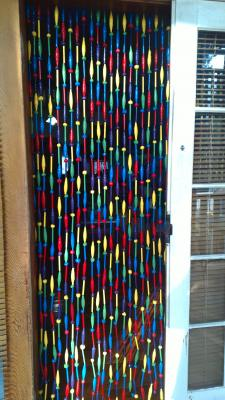 """flyscreen for door way 2"" by Cathy Cook"