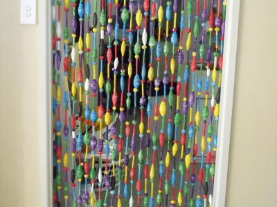 """fly screen for doorway"" by Cathy Cook"