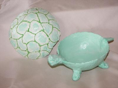 """Turtle bowl open view"" by Nancy Hagerman"