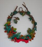 Christmas wreath by Debbie Court