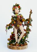 Autumn Wood Nymph by Debbie Court