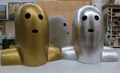 """Tank Masks"" by Jim Seffens"
