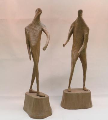 """Two Figures"" by Jim Seffens"