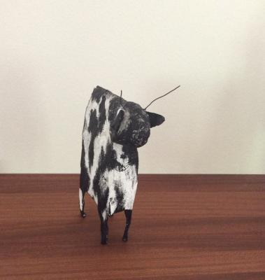 """spotted cow"" by Lisa Astrup"