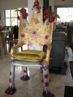 """Coronation chair"" by Tiva Noff"